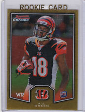 A.J. GREEN Cincinnati Bengals RC 2011 BOWMAN CHROME ROOKIE CARD Football AJ