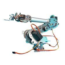 6DOF Mechanical Robotics Arm Robot Claw with Servo Arduino DIY Unassembled US