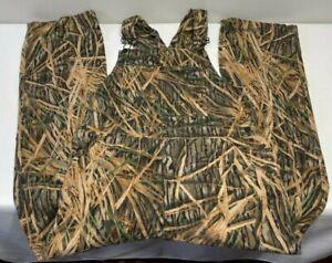 VTG Mossy Oak Brand Soft Chamois Cotton Hunting Bib Overalls Men's M