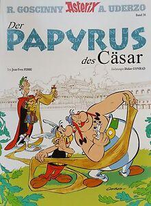 Comics Asterix & Obelix Sammlung Band 36 Der Papyrus des Cäsar   ungelesen 1A