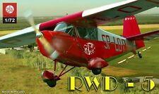 RWD 5 SPORT AIRCRAFT (POLISH MARKINGS) 1/72 PLASTYK ( pzl )