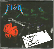 Marillion FISH Change of Heart w/ 2 RARE EDITS CD single SEALED 1997 USA seller