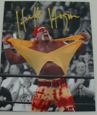 Hulk Hogan Signed 8x10 Picture WWE Wrestling Legend Photo Autographed COA Foil