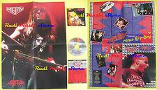CD+POSTER ANTHRAX Fistfull of metal CURCIO PROMO METAL HM-01 lp mc dvd vhs
