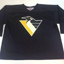 CCM Pittsburgh Penguins Men's XL Black Mesh Hockey Jersey, Kevin Hatcher