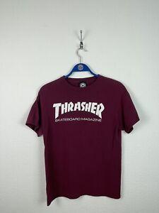 Thrasher Skateboard Shirt Vintage Retro Weinrot Gr.XS/S USA