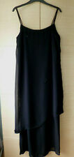 BLACK, STRAPPY, ASYMMETRIC, SEQUINNED, GERRY WEBER DRESS - ABOUT UK 12-14