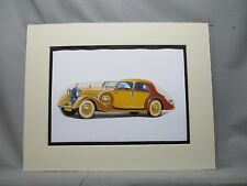 Rolls Royce 1938    artist Auto Museum Full color Illustrated not photo