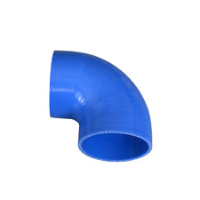 """CX Universal Silicon Hose Coupler 2"""" 90 degree Elbow Blue for Intercooler Pipe"""