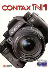 Contax N1 Camera & Lens Sales Brochure plus Test Report. Other Catalogues Listed