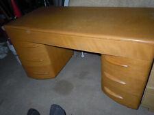 Vintage Heywood Wakefield Kneehole Desk.