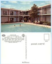 Quality Inn Spartansburg South Carolina  Postcard - Architecture Logos Pool