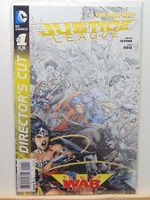 Justice League #1 Director's Cut Trinity War D.C. Universe Comics CB4399