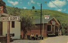 Loafers Glory North Carolina Store Front Street Scene Vintage Postcard KK71