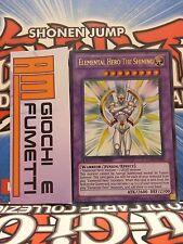 ELEMENTAL HERO THE SHINING in inglese RARA ULTRA yugioh! originale