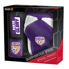 Perth Glory A-league Supporter Pack Cap Stubby Holder Keyring