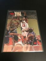 1998 UPPER DECK MJX 4TH QUARTER MICHAEL JORDAN CHICAGO BULLS 23 RARE INSERT #123