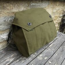 Military Satchel Shoulder Messenger Vintage Bag Army Fishing Canvas Webbing