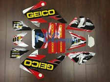 GEICO GRAPHICS DECAL STICKERS KIT HONDA CRF50 CRF 50 F 2004-2014 SDG SSR M DE65