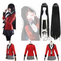 Kakegurui Compulsive Gambler School Yumeko Jabami For Halloween Cosplay Costume