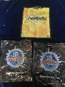 10th Anniversary Magic the Gathering/Neopets 2003 Wizards of the Coast Bags
