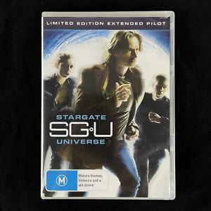 Stargate Universe SG U Limited Edition Extended Pilot DVD PAL