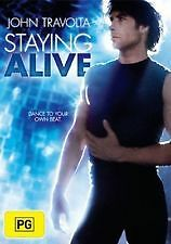 STAYING ALIVE (1984) - BRAND NEW & SEALED R4 DVD (JOHN TRAVOLTA, CYNTHIA RHODES)