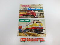 CG747-0,5 #2x Märklin H0 Katalog: 1965/66 D DM + 1966/67 D DM, Parfait 2. Choix