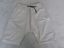 ASOS grey shorts with black drawstring waist 32
