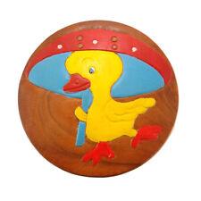 Childrens/Childs/Kids Wooden Stool - Duck