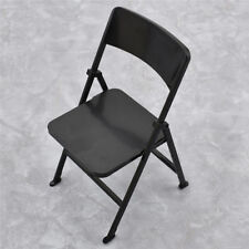 1/6 Scale Action Figure Accessories Folding Chair Furniture Toy Plastic Supply