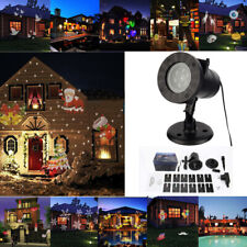 Christmas Halloween Holiday LED Laser Light Projector House Landscapes Spotlight