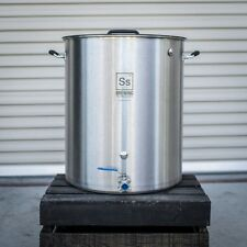 20 Gallon Ss BrewTech Kettle - Professional 304 Stainless Pot ~ Free Shipping!