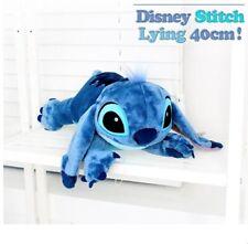 Disney Lilo and Stitch 40cm 16in Lying Stuffed Animal Dolls Plush Toys_emga