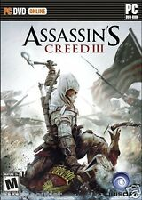 Assassin's Creed III 3 PC Brand New Factory Sealed USA Version