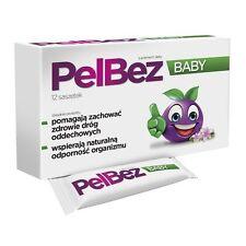 PelBez Baby 12 saszet drogi oddechowe gardło kaszel krtań odporność IMMUNITY