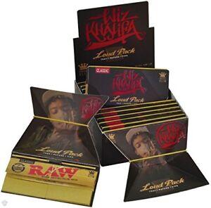 Wiz Khalifa Loud Pack Kingsize Slim Tray Rolling Papers &Tips-Authentic UK Stock
