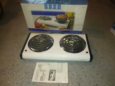 Electric 2 Burner Range-Stove Top High Powered Cooktop Kitchen Hot Plate Camping