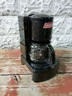 Vintage Coleman Camping Stove Drip Coffee Maker 10-12 Cup Model 5008 Black