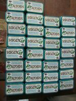 60 Empty Altoids Metal Tins, DIY's, Storage, Crafting, Red, 1.76 oz Wintergreen