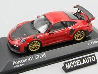 Minichamps 1:43 PORSCHE 911 (991.2) GT2RS 2018 INDISCHROT L.E. 300 pcs.