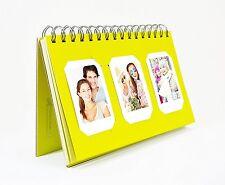 Photo Album Book style 60 Pocket for Fuijufilm Instax Mini (Yellow)