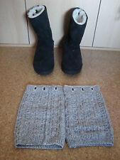 UGG Australia Damen Boots Stiefel mit Strickstulpen Gr.40, US 9, UK 7,5