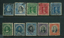 10 Stamps - Chile 1904-1917 issues used
