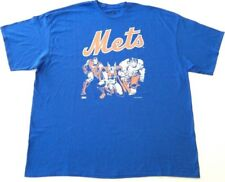 Sz 3XL NY METS Official MLB Marvel Thor Iron Man Hulk Team Spirit City Tee Shirt