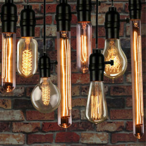 E27 Edison Filament Light Bulb