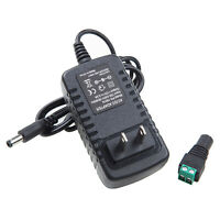 AC DC 12V 3A 110-240V POWER SUPPLY ADAPTER CHARGER FOR 3528/5050 LED STRIP PLUG