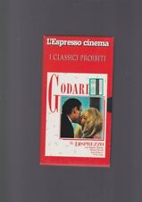 VHS film IL DISPREZZO Jean Luc Godard Brigitte Bardot classici proibiti no dvd