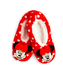 Disney Minnie Mouse Footlet Kids Girls Cosy Warm Sock Slipper Primark