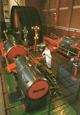 POSTCARD TRENCHERFIELD MILL STEAM ENGINE WIGAN PIER LANCASHIRE UNPOSTED